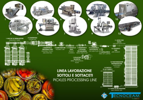 PICKLES PROCESSING LINE